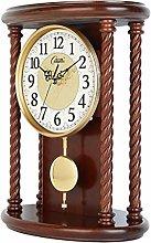 bdb Silent Pendulum Clock, Wooden Mantel Clocks,