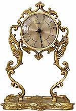 bdb Silent Table Clock Copper Desk Clock For