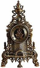bdb Transparent Dial Antique Clock With Pendulum
