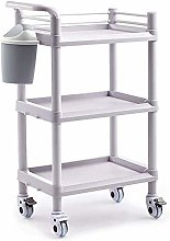 BDD Carts,Mobile Medical Equipment Cart with Brake