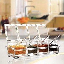 BDD Spice Jars,Kitchen Cooking Utensils Clear