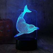 BDDLLM 3D Night Light New Children's Lamp
