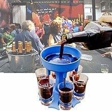 BDRSLX Christmas SIX Ways Shot Glass