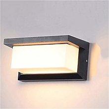 BDSHL LED Wall Lamp 18w Modern Minimalist IP65