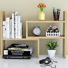 BDwantan Desktop Bookshelf Simple Desk Combination