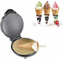 BDwantan Electric Cream Cone Maker Dessert Waffle