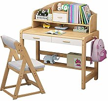 BDwantan Kids Study Desk Wooden Kids Study Desk