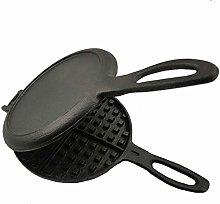 BDwantan Waffle Maker, Professional Cast Iron