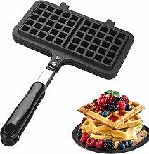 BDwantan Waffle Maker Stovetop Bread Baker Toaster
