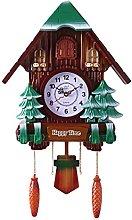 BDXZJ Chalet-Style Wall Cuckoo Clock Forest Cuckoo
