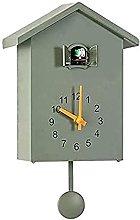 BDXZJ Cuckoo Clock Cuckoo Wall Clock, Natural Bird