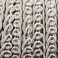Be-Creative Quality 15mm Double Scroll Gimp Braid