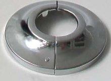 Be-Creative Radiator Pipe Collars White or Chrome