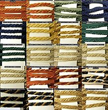 Be-Creative THICK Chenille Cord Flanged Piping