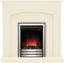 Be Modern Bewley Electric Fireplace Suite in Ivory