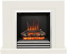 Be Modern Colby Electric Fireplace Suite in Soft