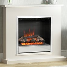 Be Modern Elsham Electric Fireplace Suite in