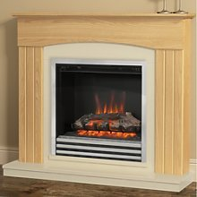 Be Modern Linmere Electric Fireplace Suite in