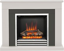 Be Modern Preston Electric Fireplace Suite in Pale