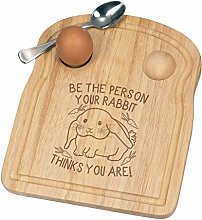 Be The Person Your Rabbit Thinks You are Breakfast