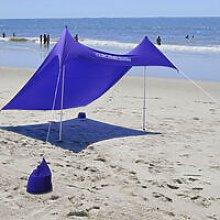 Beach Canopy Tent with Sand Anchor Lightweight Sun