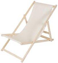 beach couch wood deckchair garden couch sun