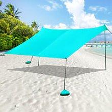 Beach Sunshade Portable Sun Shade Canopy