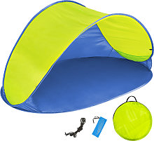 Beach tent Jasmin - blue/yellow