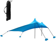 Beach Tent Sun Shelter with Sandbags for Camping