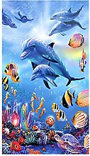 Beach Towel For Kids Girls Boy Extra Large