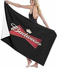 Beach Towels Unisex Budweiser Beer Logo Soft