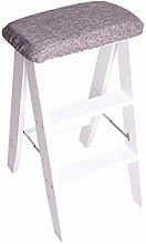 Beads Folding stools / 3 ladders, Wooden Stairs,