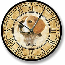 BEAGLE Wall Clock, Home Décor Clock for Office,