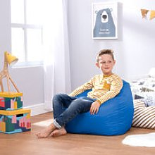 Bean Bag Bazaar - Hi-Rest Bean Bag Chair - Medium