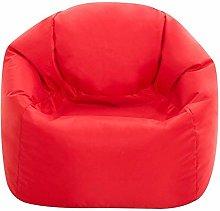Bean Bag Bazaar Kids Hi-Rest Chair, 2 Pack, Red,