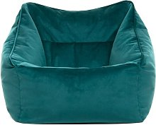 Bean Bag Chair Isabelline Upholstery Colour: Teal