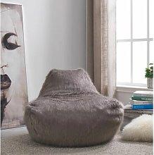 Bean Bag Chair Norden Home Upholstery Colour: Grey