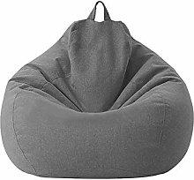 Bean Bag Sofa Chair No Filler Cloth Chair Recliner