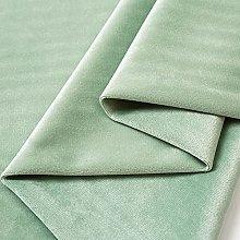 Bean Green Velvet Fabric Upholstery Fabric for