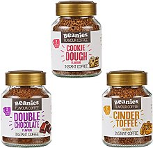 Beanies Flavoured instant coffee jars 3x50g ;