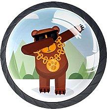 Bear Animal Knobs for Dresser Drawers Decorative