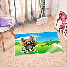 Bear Haunted Carpet Anime Rectangular Living Room