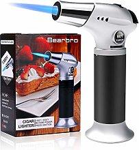 Bearbro Kitchen Blow Torch Lighter, Refillable