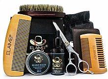 Beard Grooming Kit, Beard Brush, Beard