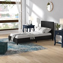 Bearden Upholstered Bed Frame Marlow Home Co.