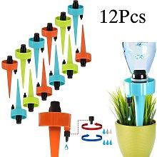Bearsu - 12Pcs Drip Irrigation Kit, Automatic
