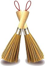 Bearsu - 2 Pack Cleaning Whisk Traditional Natural