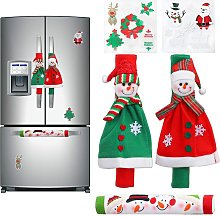 Bearsu - 3 Pack Adorable Snowman Refrigerator