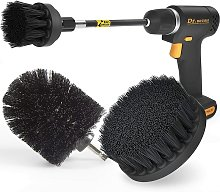 Bearsu - 4Pack Drill Brush Power Scrubber Cleaning