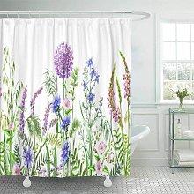 Bearsu - Accrocn Fabric Decorative Shower Curtain